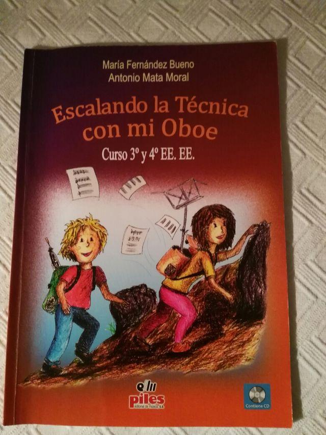 libro música oboe