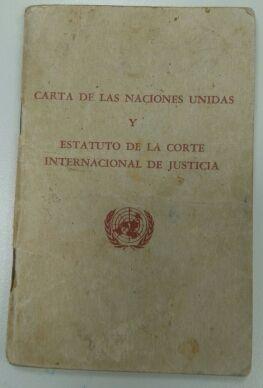 Carta de Naciones Unidas 1948. Original