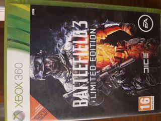Battelfield 3 limited edicion xbox 360