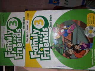 libro family and friends 3 primaria oxford
