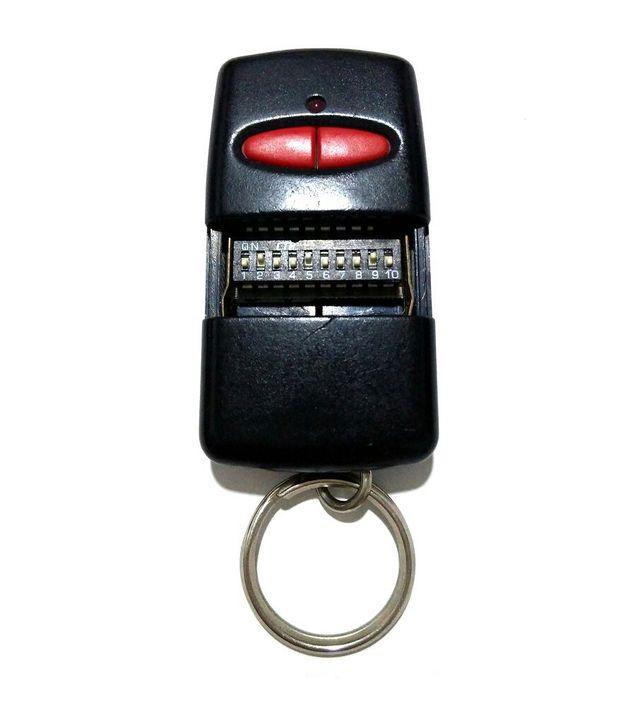 Mando de garaje original Erreka de 2 botones