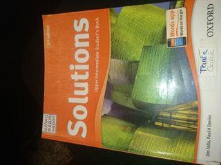 libro de ingles Solutions 4° Eso