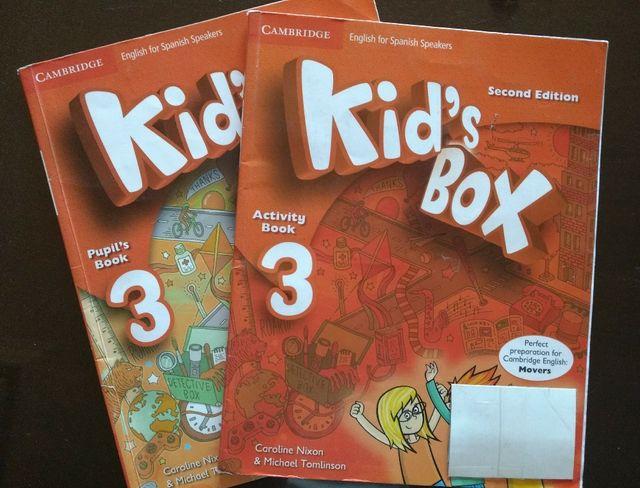 Libro Inglés 3 Primaria Kid's Box 3. Cambridge