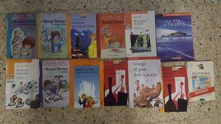 varios libros infantiles primaria