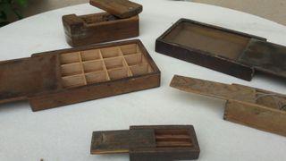 Cajas madera antiguas de segunda mano por 40 en barcelona en wallapop - Cajas de madera barcelona ...
