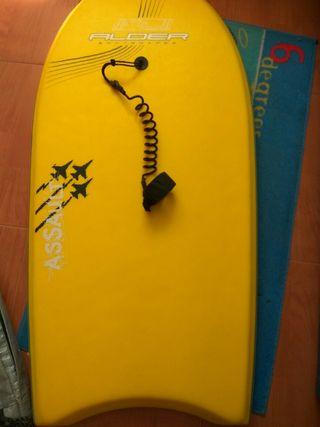 Tabla surf funda y traje neopreno