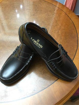 Zapatos de caballero de piel talla 41/8 nuevos