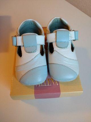 Zapatos bebé niño niña talla 18