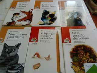 libros Anaya. 4€ cada uno.