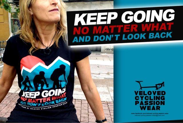 Camiseta VELOVED KEEP GOING