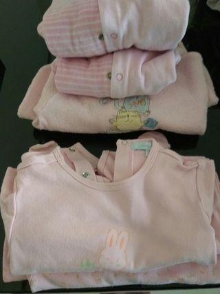 lote pijamas tallas 9/12 meses y 12 meses.