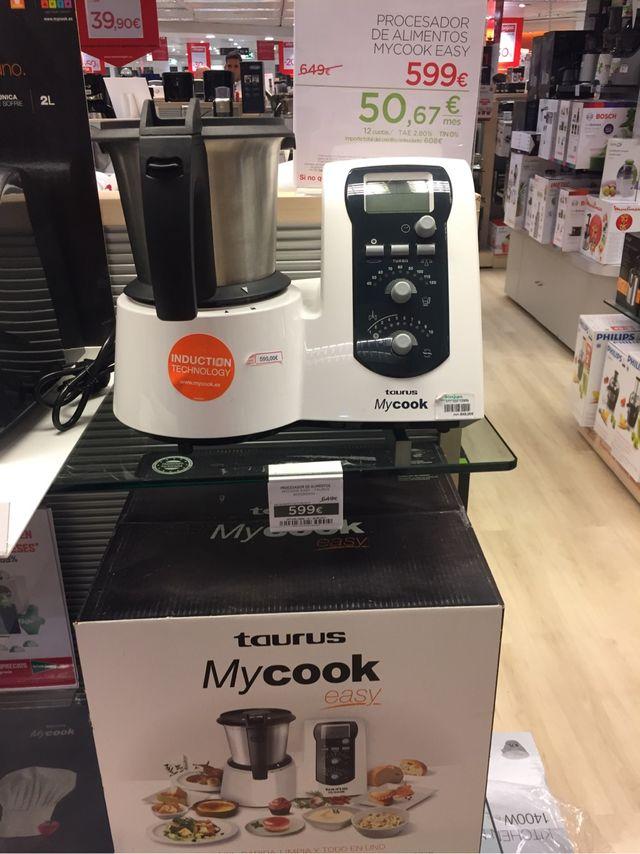 Oportunidad Robot cocina Taurus MyCook Easy (Sin abrir)