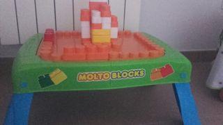 mesa bloques