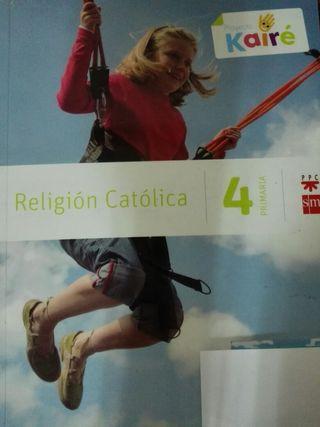 Libro Religión Proyecto Kairé ISBN 9788467568165