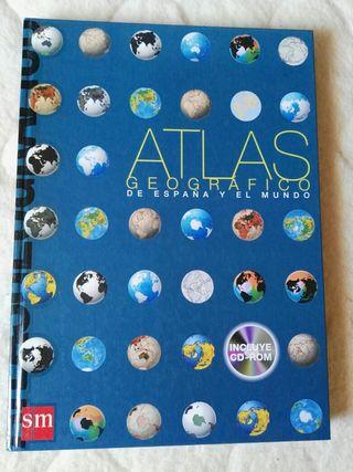 Atlas geográfico de España y el mundo.