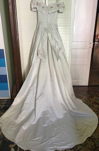 vestido de novia de segunda mano en igualada en wallapop