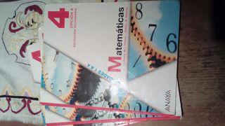 Libro Matemáticas 4 ESO Opción A