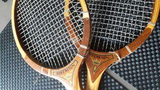 Raquetas de madera vintage SOVEREIGN