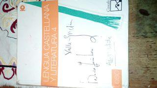 libro Lengua 4 ESO Casals