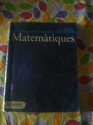 Matematiques 4 Eso Ed. Barcanova
