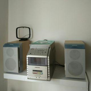 mini chaîne Samsung