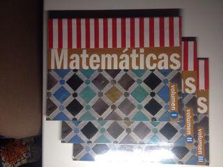 Libros de matemáticas de ESO
