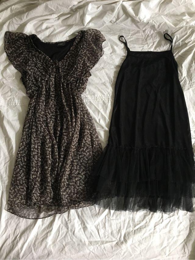 Suki cat print dress