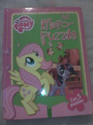 LEER ANUNCIO: Libro puzzle my little pony
