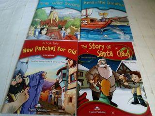 libros inglés. storytime. 4€ cada uno.
