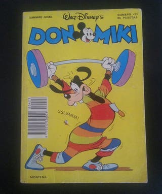 comic don miki mickey número 423