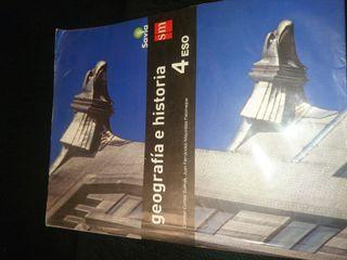 Libro de Geografía e historia 4°Eso