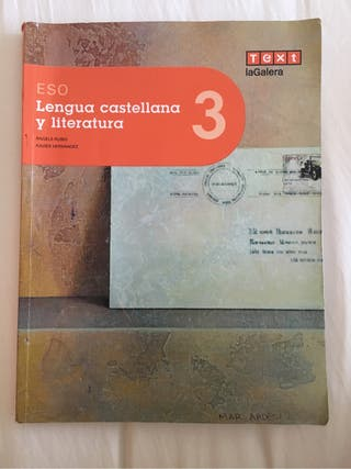 Libro lengua castellana 3 ESO Text laGalera