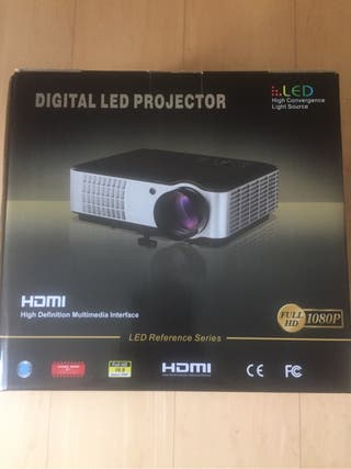 Proyector Led 1080 HD-2800 lum