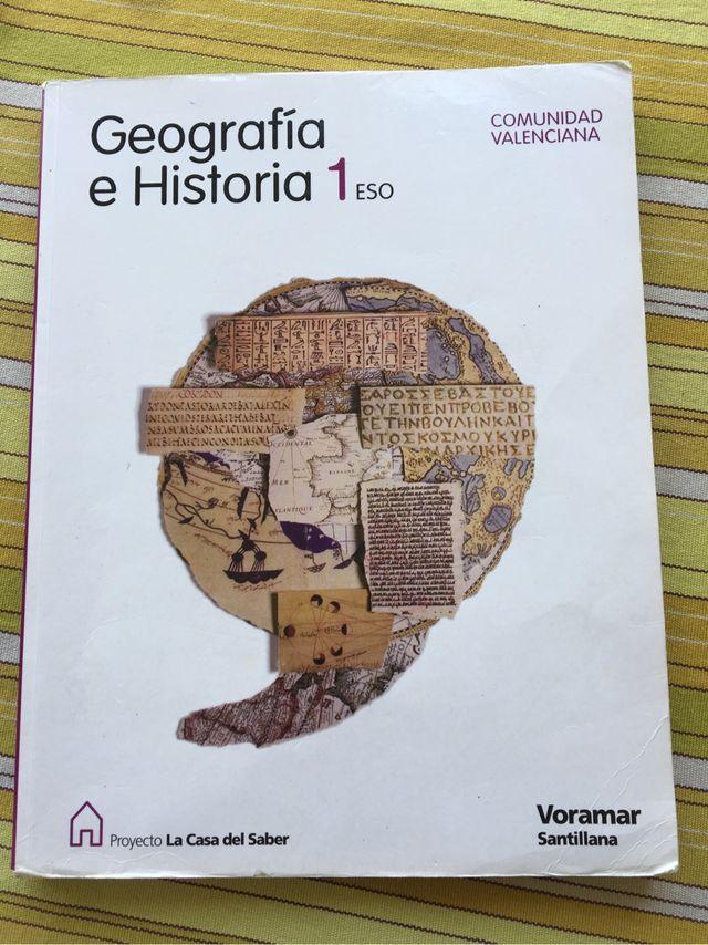 Libro geografia/historia 1eso