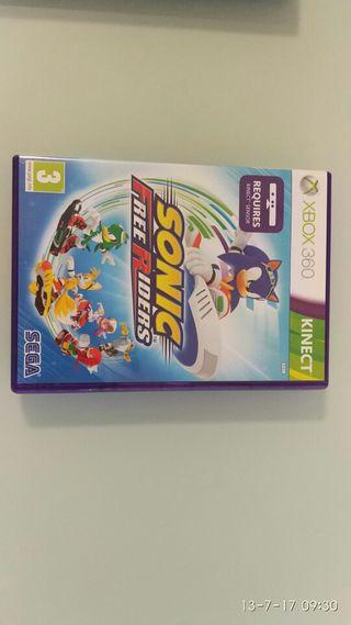 Sonic FreeRiders Xbox 360 para kinect