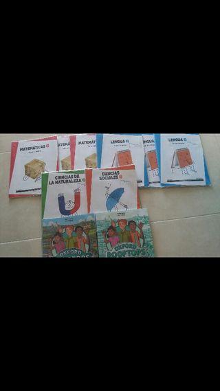 Libros de 6 Primaria Villasequilla