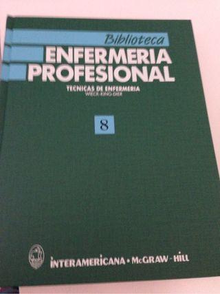 Enciclopedia de enfermería 12 tomos