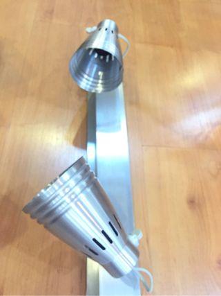 Tira de 3 focos aluminio