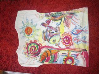 camiseta pez