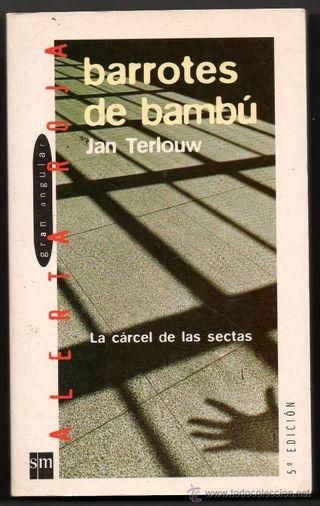 Libro barrotes de bambú