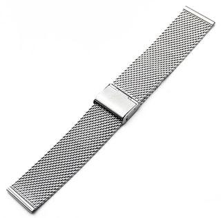 Correa reloj universal acero inoxidable 22mm nueva