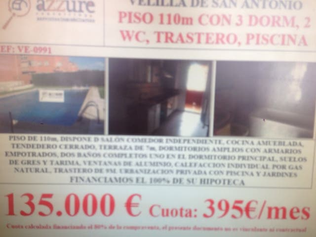 Piso 3 dorm, 2wc, piscina