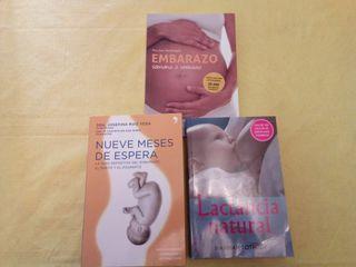 Libros embarazo y lactancia