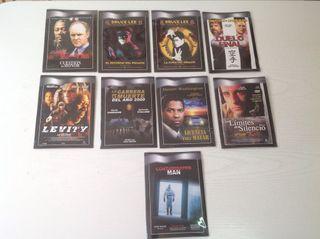 9 película DVD CINE VARIADO