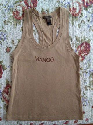 Camiseta basica Mango