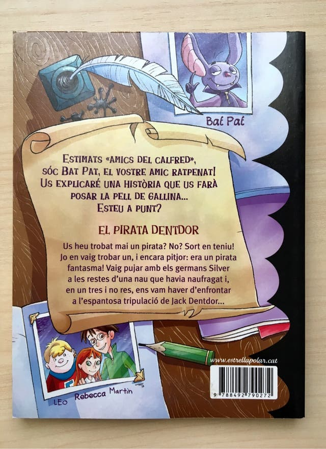 Bat Pat: El pirata Dentdor