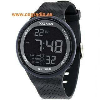 XONIX Reloj Digital resistente al agua 100m