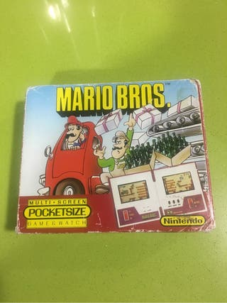 Game watch Mario Bros Pocketsize multi screen