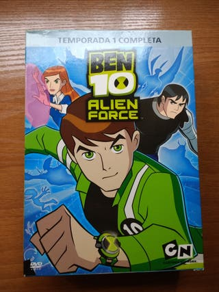 DVD Temporada 1 Ben 10 Alien Force