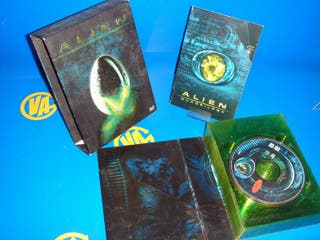 Dvd ALIEN QUADRILOGY buen estado
